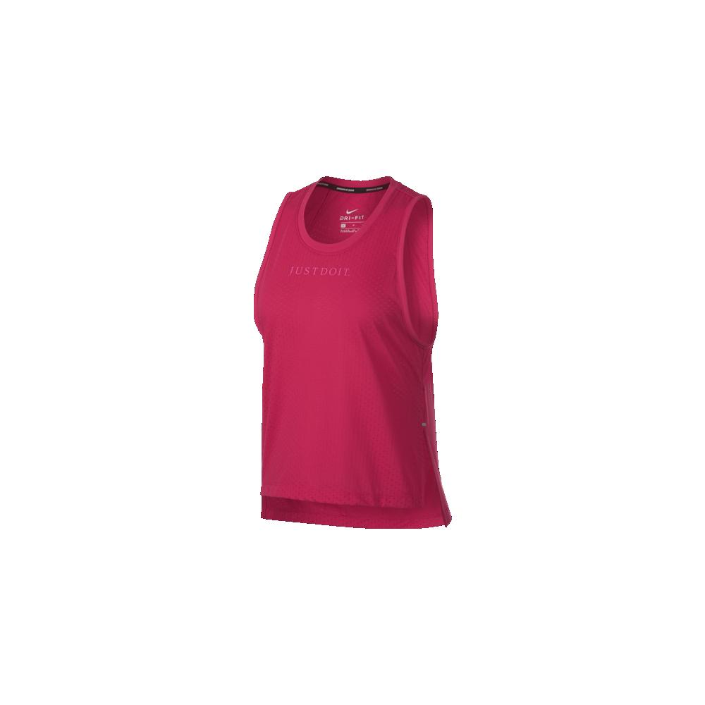 0b9bc3601f Nike Canotta Donna Run Tailwind Jdi Rush Pink